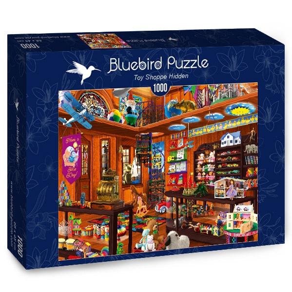 Puzzle Bluebird Tienda de Juguetes Oculta de 1000 Piezas