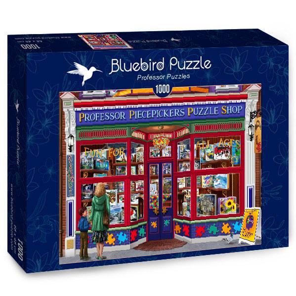 Puzzle Bluebird Tienda de Puzzles del Profesor de 1000 Piezas