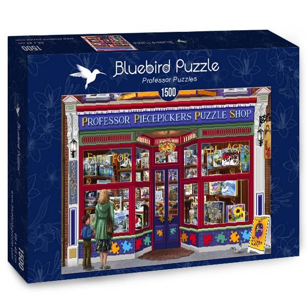 Puzzle Bluebird Tienda de Puzzles del Profesor de 1500 Piezas