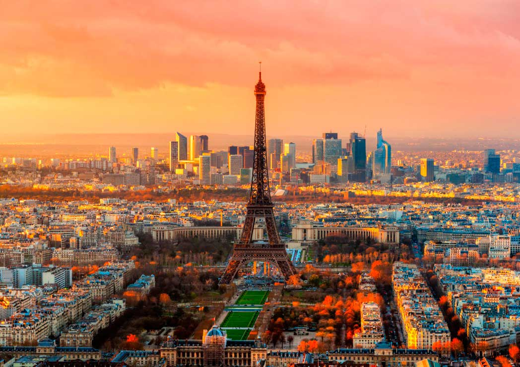 Puzzle Bluebird Torre Eiffel, París de 1000 Piezas