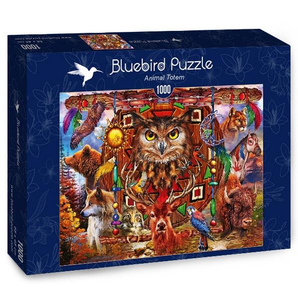 Puzzle Bluebird Tótem Animal de 1000 Piezas