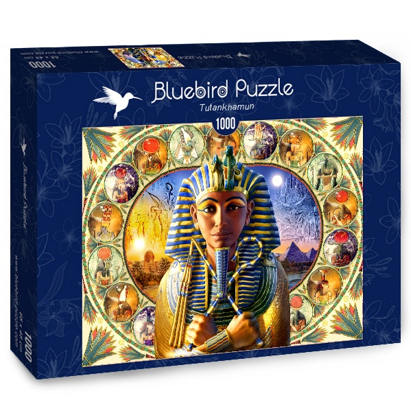 Puzzle Bluebird Tutankhamón de 1000 Piezas