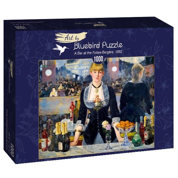 Puzzle Bluebird  Un Bar del Folies-Bergère de 1000 Piezas