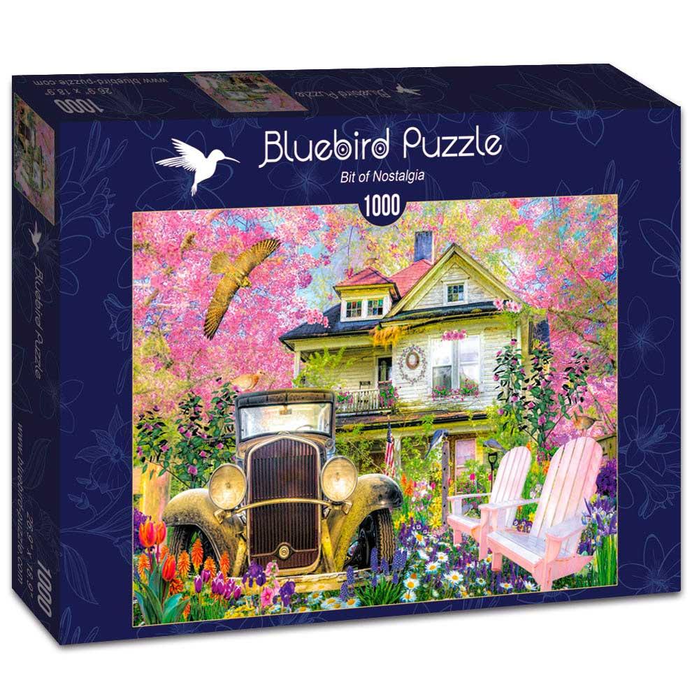 Puzzle Bluebird Un Poco de Nostalgia de 1000 Piezas