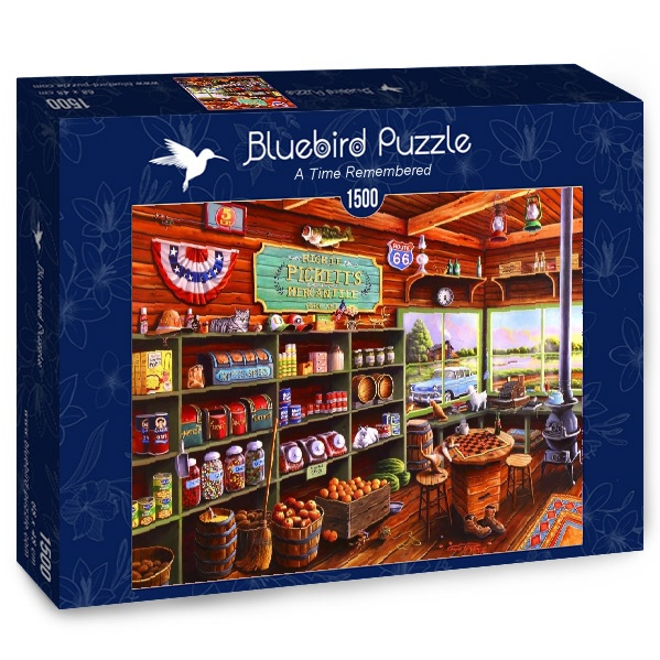 Puzzle Bluebird Un Tiempo Recordado de 1500 Piezas