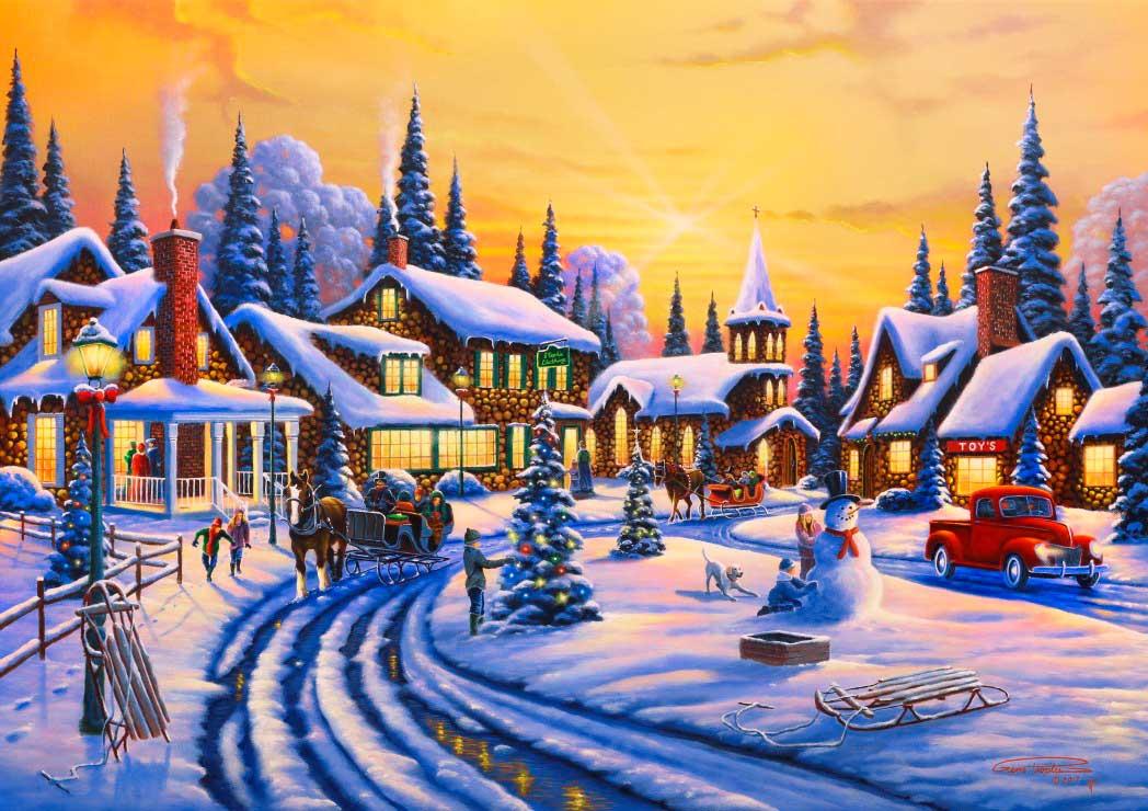 Puzzle Bluebird Una Historia de Navidad de 1500 Piezas