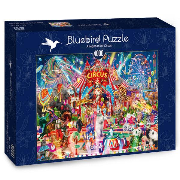 Puzzle Bluebird Una Noche en el Circo de 4000 Piezas