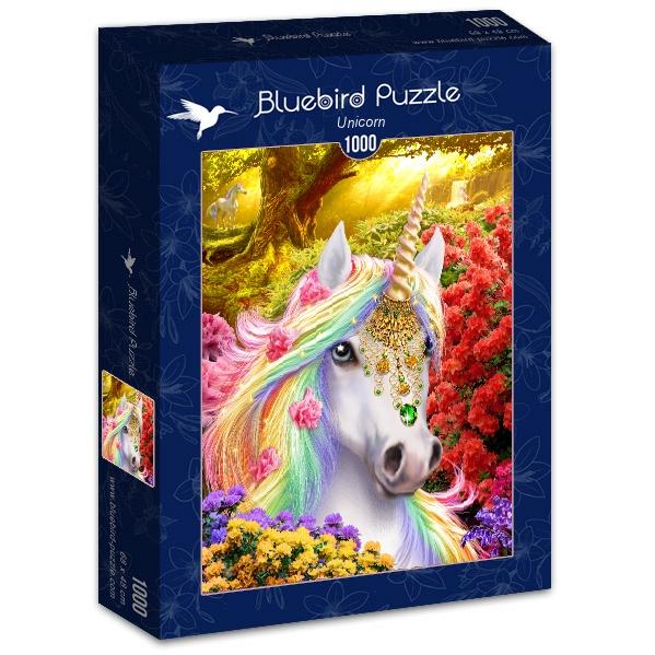 Puzzle Bluebird Unicornio de 1000 Piezas