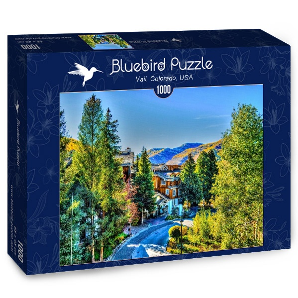 Puzzle Bluebird Vail, Colorado, Estados Unidos de 1000 Piezas