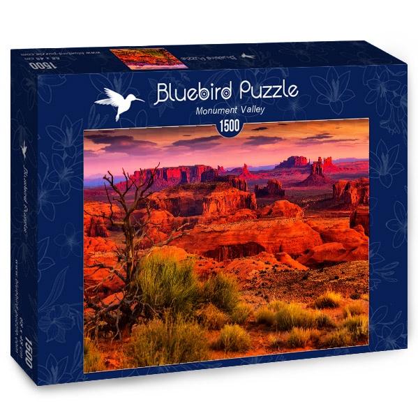 Puzzle Bluebird Valle del Monumento de 1500 Piezas