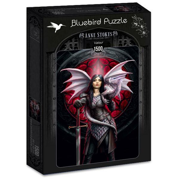 Puzzle Bluebird Valor de 1500 Piezas