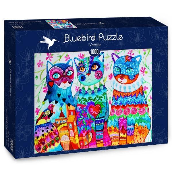 Puzzle Bluebird Venecia de 1000 Piezas