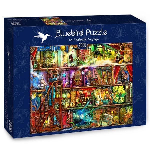 Puzzle Bluebird Viaje Fantástico de 2000 Piezas