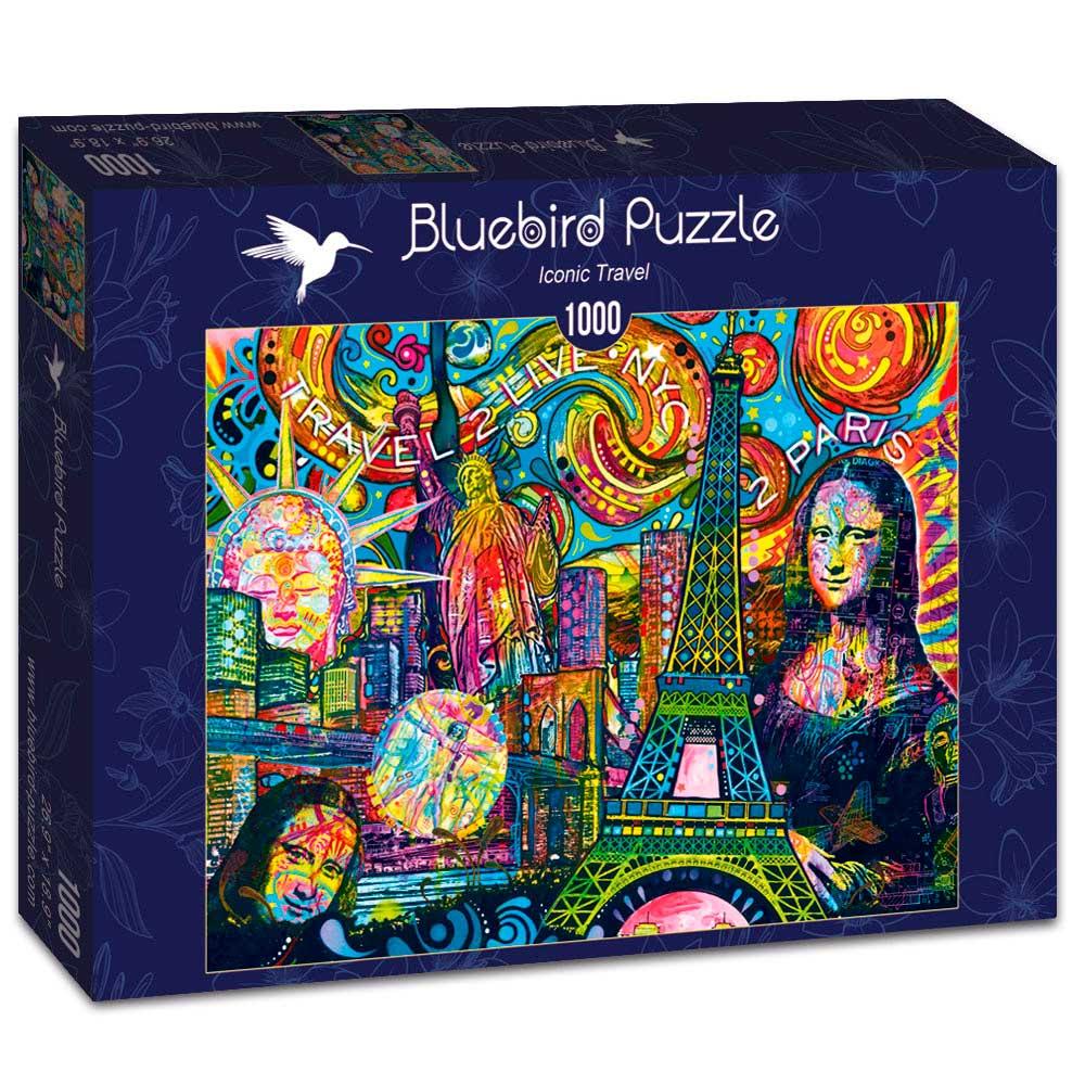 Puzzle Bluebird Viaje Icónico de 1000 Piezas