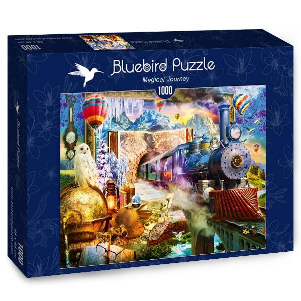 Puzzle Bluebird Viaje Mágico de 1000 Piezas