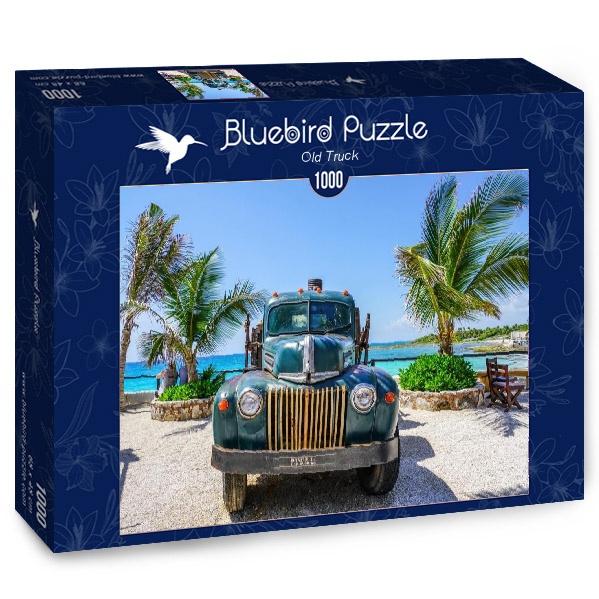 Puzzle Bluebird Vieja Camioneta de 1000 Piezas