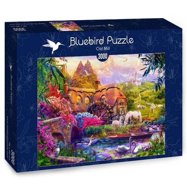 Puzzle Bluebird Viejo Molino de 3000 Piezas