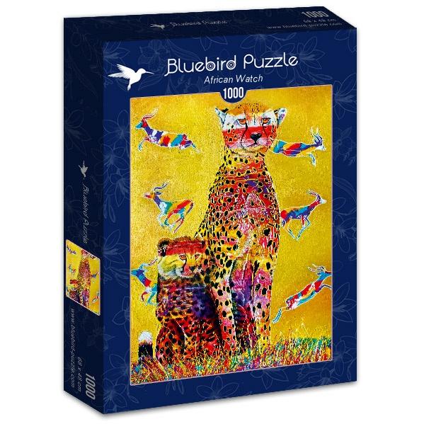 Puzzle Bluebird Vigilantes Africanos de 1000 Piezas