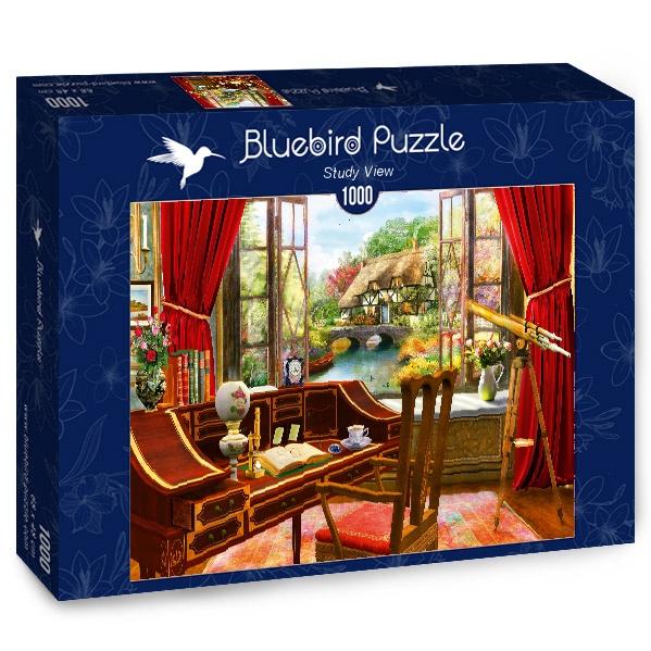 Puzzle Bluebird Vista Desde el Estudio de 1000 Piezas