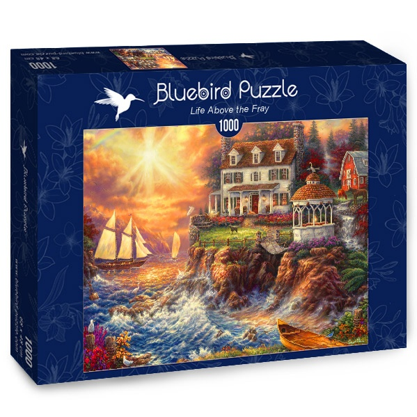 Puzzle Bluebird Viviendo en el Acantilado de 1000 Piezas