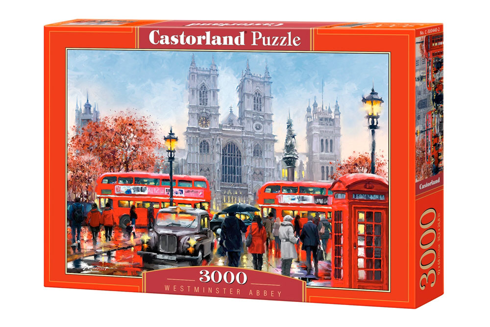 Puzzle Castorland Abadía de Westminster, Londres de 3000 Piezas