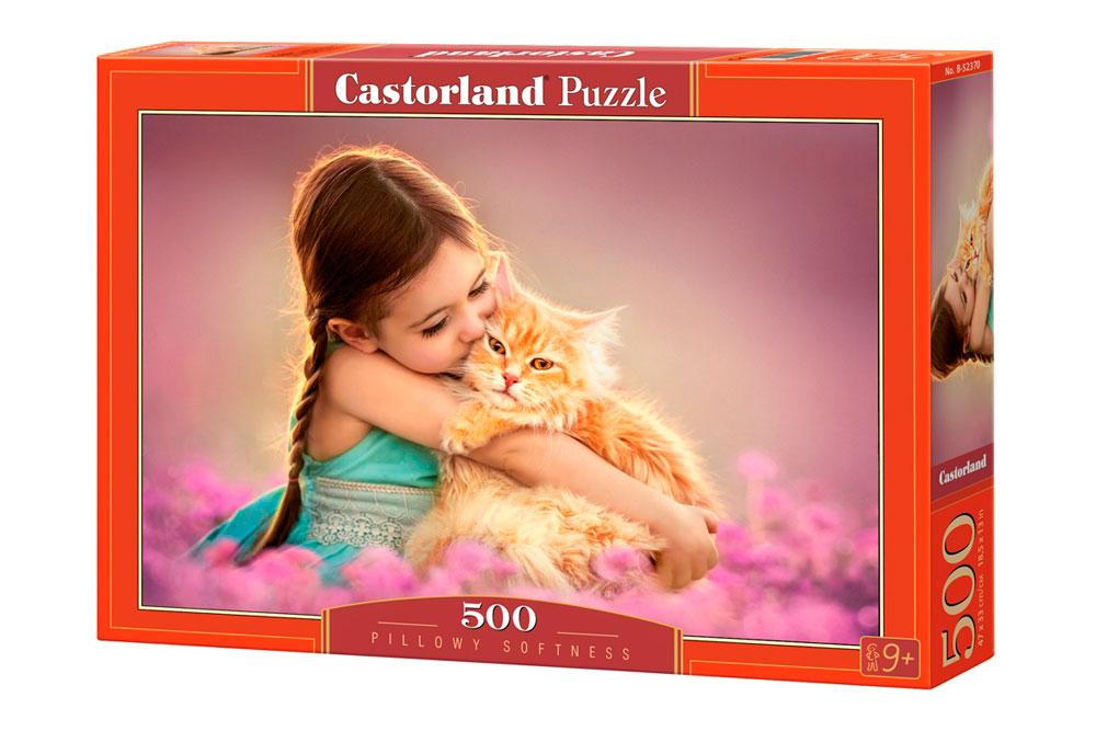Puzzle Castorland Almohada Peluda de 500 Piezas