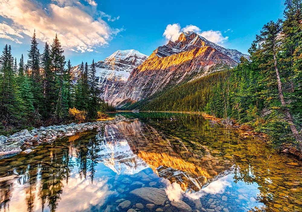 Puzzle Castorland  Amanece en las Montañas de 500 Piezas