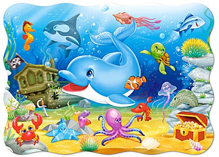 Puzzle Castorland Amigos Submarinos de 30 Piezas