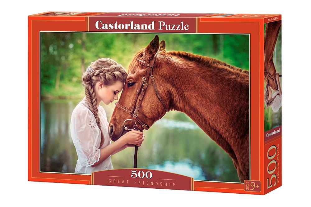 Puzzle Castorland Amistad Pura  de 500 Piezas