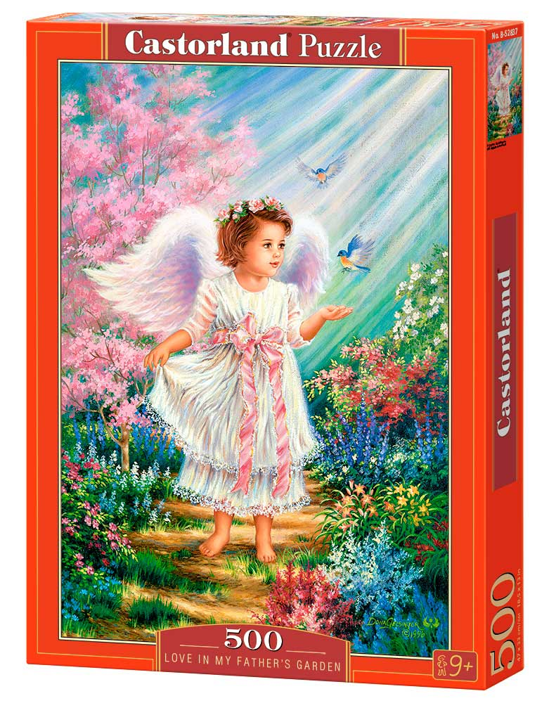 Puzzle Castorland Amor en el Jardín de mi Padre 500 Piezas