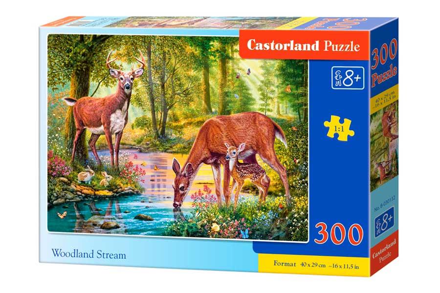 Puzzle Castorland Arroyo en el Bosque de 300 Piezas