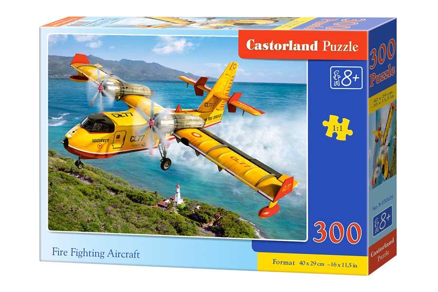 Puzzle Castorland Avión Contra Incencios de 300 Piezas