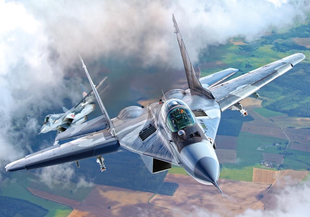 Puzzle Castorland Avión de Combate Mig 29 de 500 Piezas