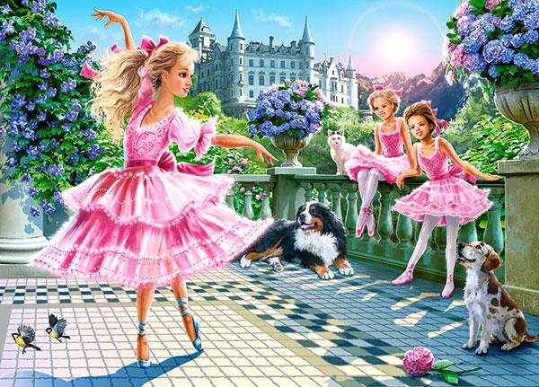 Puzzle Castorland Bailarinas de Ballet de 180 Piezas