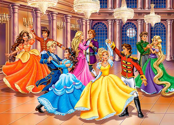 Puzzle Castorland Baile de Princesas de 120 Piezas