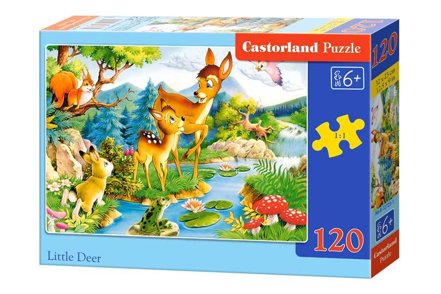 Puzzle Castorland Bambi de 120 Piezas