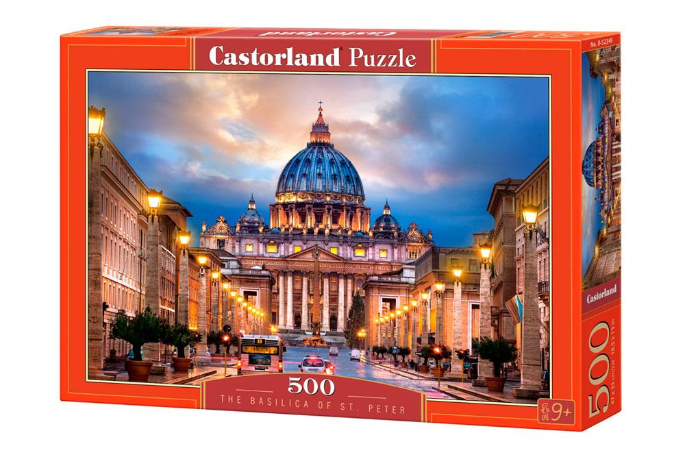 Puzzle Castorland Basílica del San Pedro de 500 Piezas