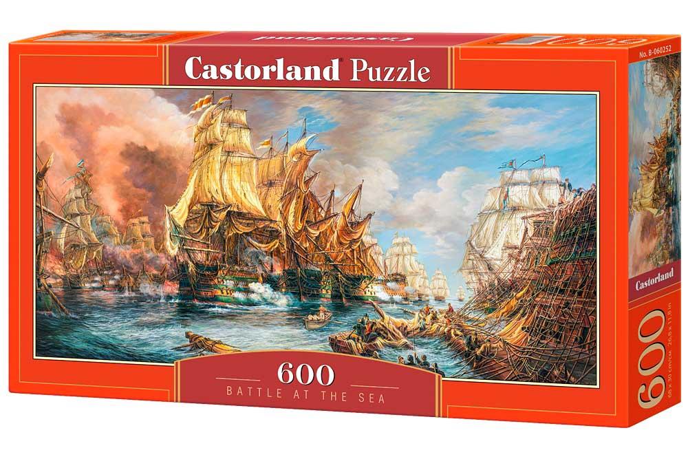 Puzzle Castorland Batalla en el Mar de 600 Piezas