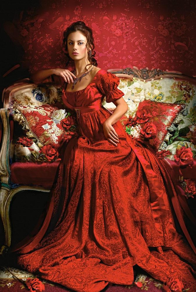 Puzzle Castorland Belleza Roja de 1500 Piezas