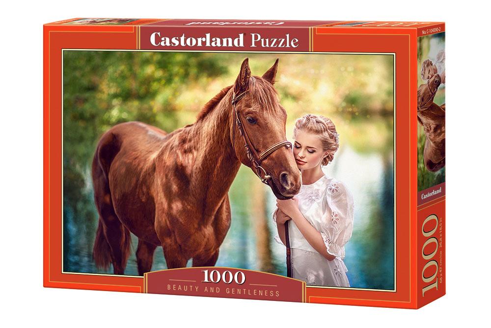 Puzzle Castorland Belleza y Suavidad de 1000 Piezas