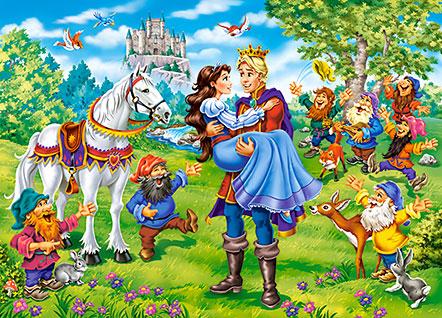 Puzzle Castorland Blancanieves Final Feliz de 120 Piezas