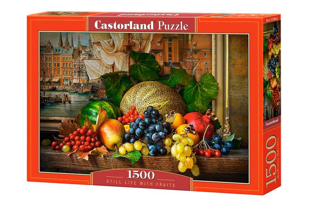 Puzzle Castorland Bodegón con Frutas de 1500 Piezas