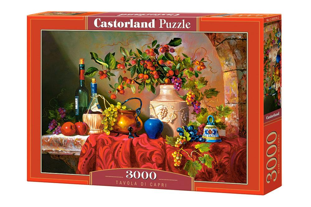 Puzzle Castorland Bodegón de Capri de 3000 Piezas