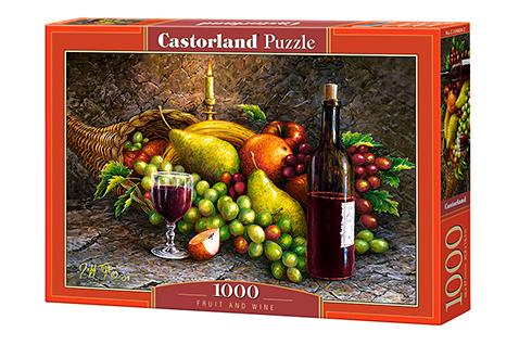 Puzzle Castorland Bodegón de Frutas y Vino de 1000 Piezas
