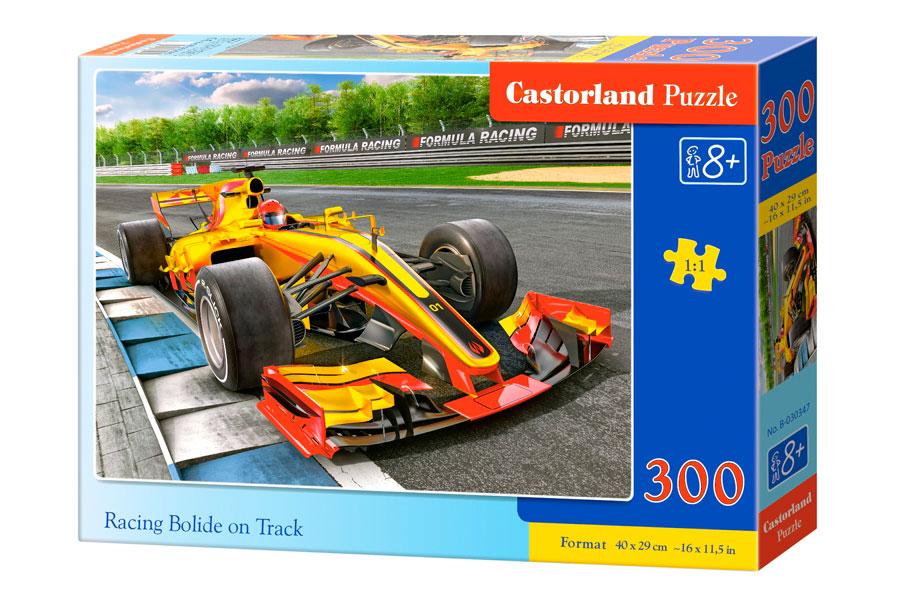 Puzzle Castorland Bólido en Carrera de 300 Piezas