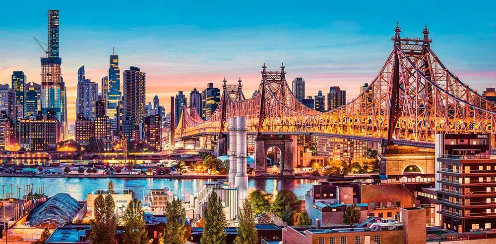 Puzzle Castorland Buenas Noches Nueva York de 4000 Piezas