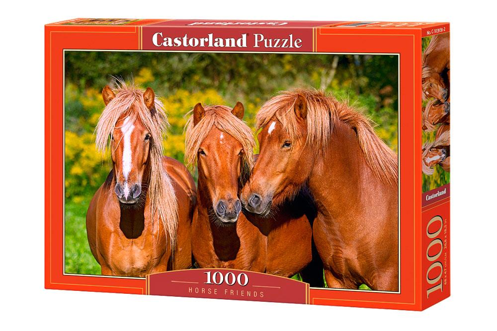 Puzzle Castorland Caballos Amigos de 1000 Piezas