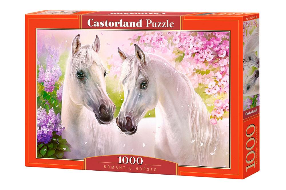 Puzzle Castorland Caballos Románticos de 1000 Piezas