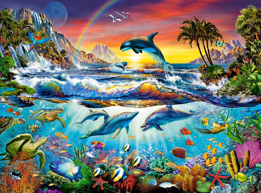 Comprar puzzle castorland cala en el paraiso de 3000 for El paraiso de las alfombras