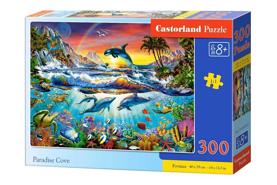 Puzzle Castorland Cala Paraíso de 300 Piezas